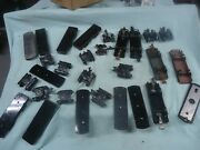 Huge Lot Vintage Marx O Scale Chassis And Trucks New And Used Maybe Some Flyer