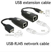 Usb Extension Ethernet Rj45 Cat5e/6 Cable Lan Adapter Extender Over Repeate Flc2
