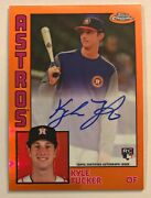 2019 Topps Chrome Kyle Tucker Auto Rc And039d /25 And03984 Topps Orange Refractor Ssp Hot