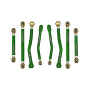 Core 4x4 Adjustable Control Arms Tier 4 Complete Set Fits Jt - Green