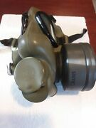 Vintage Us Military M11 Canister Gas Mask