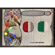 Paul Pierce 2006 Topps Bowman Elevation Board Of Directors Dual Patches 1/1