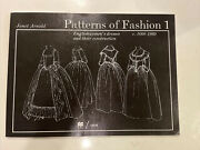 Patterns Of Fashion 1 1660 - 1860 Vol 1 By Janet Arnold 2nd Edition 1972
