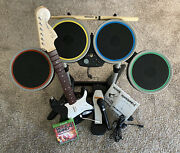 Rock Band 4 Bundle Full Set Guitar Drums Microphone And Game Microsoft Xbox One