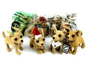 Taco Bell Chihuahua Talking Dog Collectible Plushies Lot Of 10 Read