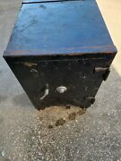 Antique Victor Safe And Lock C. Early 1900andrsquos