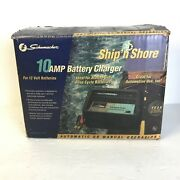 Schumacher 12v 10a Deep Cycle Marine Fully Automatic Battery Charger Ss-51a-pe