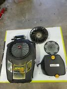 Kohler Courage 17 Hp Engine Covers And Fan Parts Lot.used