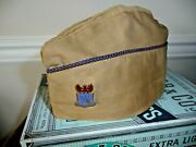 Wwii Us Army Aircorps Prepare For Combat Crest Pin And Cotton Twill Hat Cap