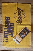 2010 Lakers Final Game Middle Court Side 💥ticket And Towel. Impossible To Find