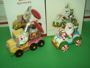 Hallmark Lot Santa's Sweet Ride 1st And 7th Car And Truck 2007-13 Ornaments
