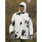 German Snow Camo Jacket - Brand New- Size Med.- Great Colors