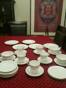 Royal Standard Fine Bone China Tea Set Made In England. 28 Pieces New