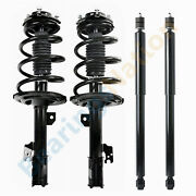 Front And Rear Shocks Complete Struts For 2011-2014 Toyota Sienna Awd
