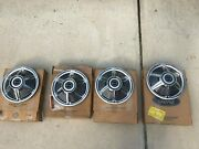 Nos 64.5 65 66 Ford Mustang 13 Hubcaps Set Of Four C4za-1130-f