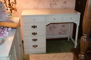 Ethan Allen Desk And Chair White