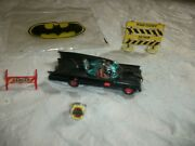 Batman Car Heavy Diecast Plus Signs As You See Included Flicker Ring Also 1960s