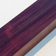 Collector-grade Bois De Rose Rosewood Turning Blank, Inlay, Knife Scales