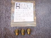 Holtzman Mikuni Needle And Seat. Dyna Flow Needle And Seat. Set Of 3 Nos.