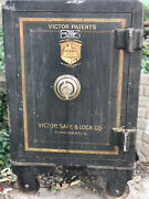 Antique Victor Safe And Lock Co. Patents Safe