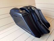 6down 9back Extended Bags/fender With Nr.2 6x5 Lids For Touring Bikes 97-2008
