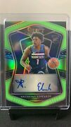 2020-21 Select Rookie Rc Auto Anthony Edwards Autograph Neon /99 Rs-edw