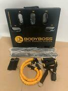 Bodyboss Home Gym 2.0 - Pkg2-gold Full Portable Gym Home Workout Package 1 Set