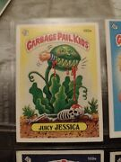 1986 Topps Garbage Pail Kids Stickers Juicy Jessica 105a.
