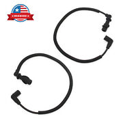2x Ignition Coil Spark Plug Wire Harness Fit For Sportsman Ranger Rzr 700 800