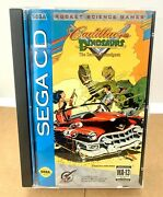 Cadillacs And Dinosaurs The Second Cataclysm For Sega Cd Complete