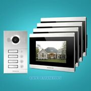 Homsecur 7 Video Door Phone Intercom System With Memory Monitor