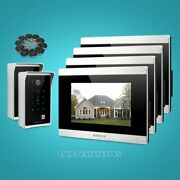 7 Wired Hands-free Video Door Phone Intercom System With Memory Monitor