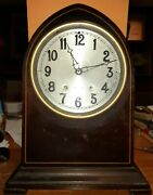 Antique Herschede Mantle Clock 1915 Grand Prize Panama Pacific Exposition