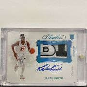 Jalen Smith Rpa 1/1 Big 10 Conf Logo Invest Maryland Suns