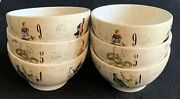 Williams Sonoma 12 Days Of Christmas Cereal Bowls Set Of 6