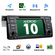 Ga9450 Android 10 7 Touch Screen Car Stereo Gps Radio Obd2 Usb Dvd For Bmw E46