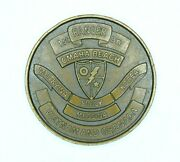 Rare Authentic 1980and039s U.s Army 1st Ranger Battalion 75th Infantry Challenge Coin