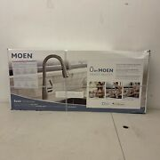 Moen Essie Voice Activated Touchless Smart Kitchen Faucet 87014evsrs Brand New