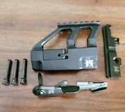 Ak Master Mount No Drill Side Rail, Fcg Pins, Top Rail, And Enhanced Saftey Lever