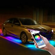 Neon Accent Led Tube Lights Multi-colors Truck Car Underglow Under Body Lamp Kit