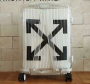 Rimowa X Off White 2nd Limited See Through White Carry Case Luggage 36l New