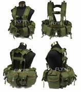 Flyye 1195j Us Navy Seal Floating Harness Float Plate Carrier Chest Rig - Od