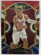 Isaac Okoro 2020-21 Panini Select Tri-color Prizm Concourse Level Rookie Rc Ssp