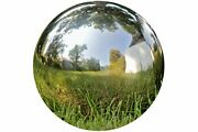 Whw Whole House Worlds Crosby Street Stainless Steel Gazing Ball For Garden And