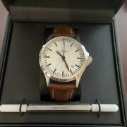 Sinn 556 Silver Japan Limited Edition 1/50 Automatic Menand039s Very Rare Box And Paper