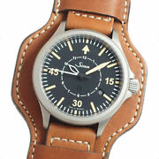 Sinn 856 B-uhr Limited Edition Automatic Tegimented Mens Pilot Watch Box And Paper