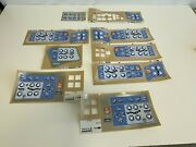 H18 Lot Of New Hill Rom Hospital Bed Stickers And Labels
