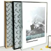 Picture Frame Metal Poster Classic Aluminum Photo Frames For Wall Hanging A3 A4