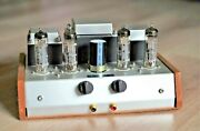 Push Pull Tube Amplifier Exclusive Dissident Audio Ecl86 / 6gw8 - Made In France