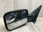 Used 02-09 Dodge Ram 1500 2500 Towing Side Mirror Right Passenger Oem